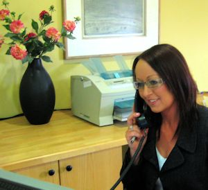 Suzanne Mc Tiernan Receptionist at O'Dowd Solicitors